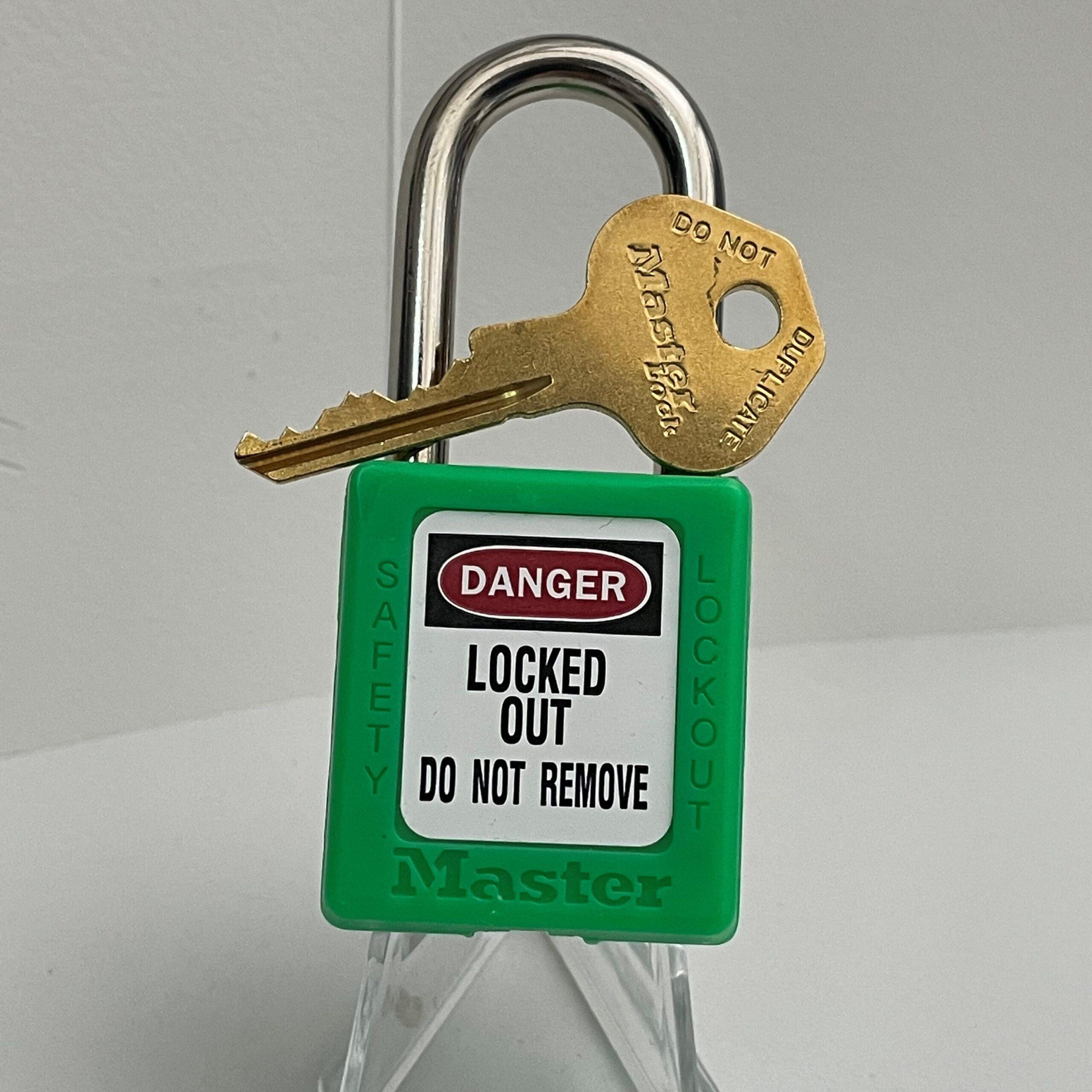 Green – Master Lock 410 LOTO